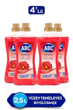 ABC Büyülü Bahçe Yüzey Temizleyici 2500 ml X4