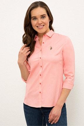 U.S. Polo Assn. Kırmızı Kadın Gömlek