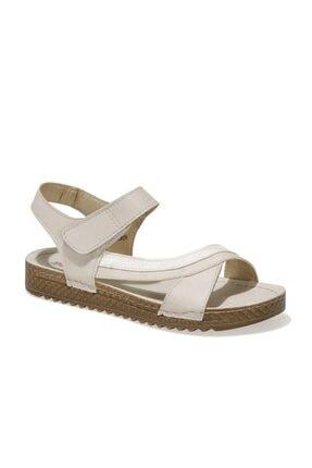 Polaris 161981.z1fx Altın Kadın Comfort Sandalet
