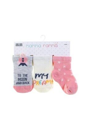 Mammaramma Kız Bebek Soket Çorap