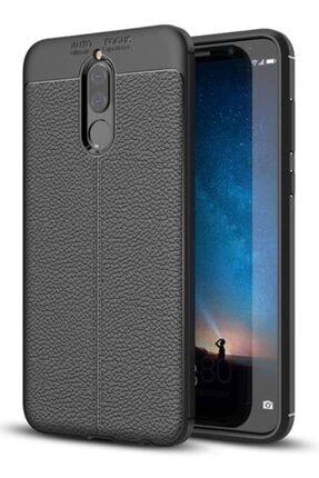 MobilCadde Dafoni Liquid Shield Premium Huawei Mate 10 Lite Uyumlu   Siyah Silikon Kılıf