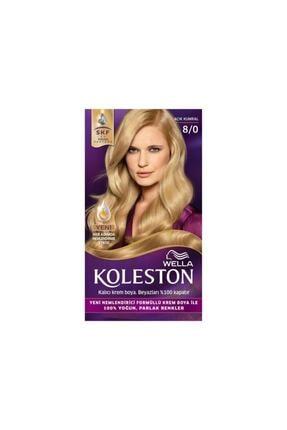 Koleston Açık Kumral (8.0) Saç Boyası