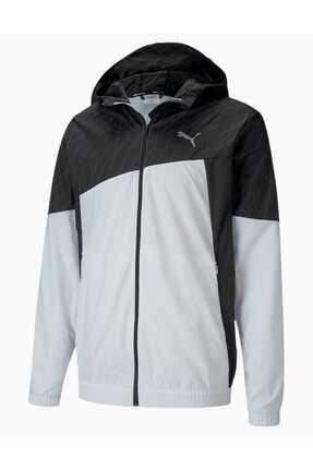 Puma Run Graphıc Hoodeed Yağmurluk 519377-01