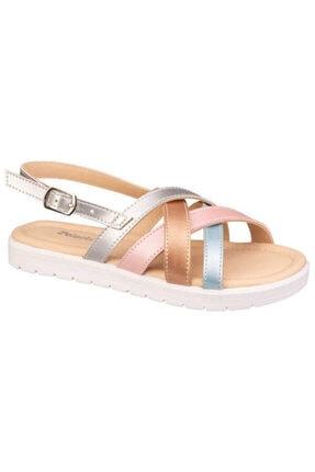 Polaris 615285.F1FX Çok Renkli Kız Çocuk Sandalet 101022292