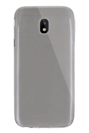 MobilCadde Dafoni Aircraft Samsung Galaxy J3 Pro 2017 Uyumlu Ultra İnce Şeffaf Siyah Silikon Kılıf