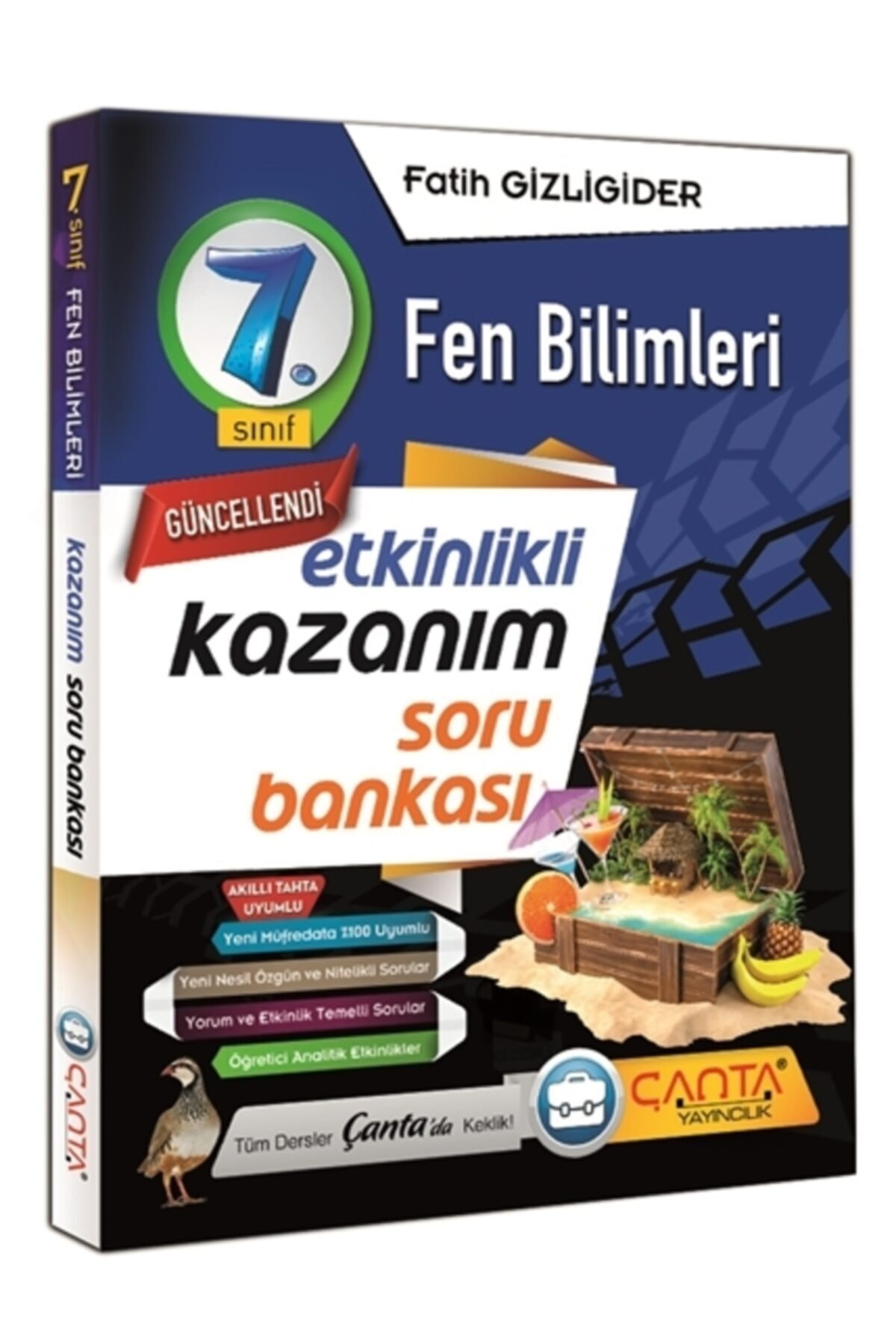 Çanta Yayınları 7. Sınıf Kazanım Fen Bilimleri Soru Bankası(2021-2022) 1