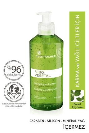 Yves Rocher Sebo Vegetal - Gözenekleri Derinlemesine Arındıran Yıkama Jeli - 390ml