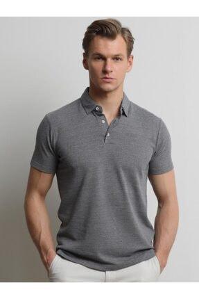 Kip Jakarlı Örme  T-Shirt