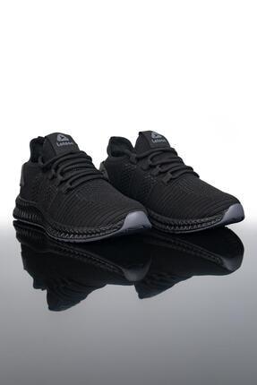 LETOON Unisex Siyah Spor Ayakkabı 2103
