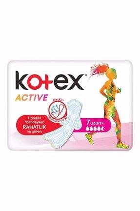 Kotex Active Single Uzun 7 Li Flexfit