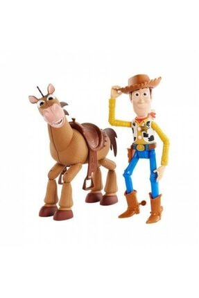 Mashotrend Lisanslı Toy Story Figür Seti - Toy Story Woody Ve Atı Bullseye - Toy Story 4