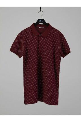Ltb Erkek Bordo Polo Yaka T-shirt 8816 M