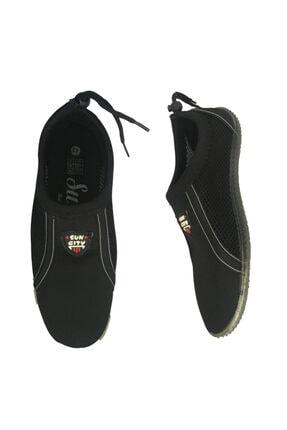 Suncity Erkek Siyah Deniz Sörf Ayakkabısı Aqua