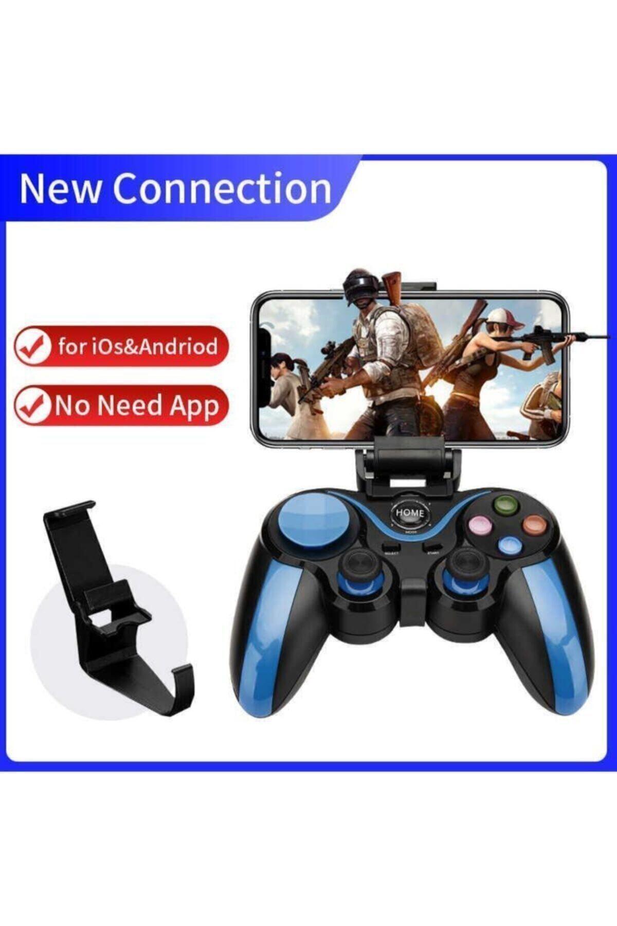 dijimedia S9 Bluetooth Kablosuz Mobil Oyun Konsolu Pubg Gamepad 2