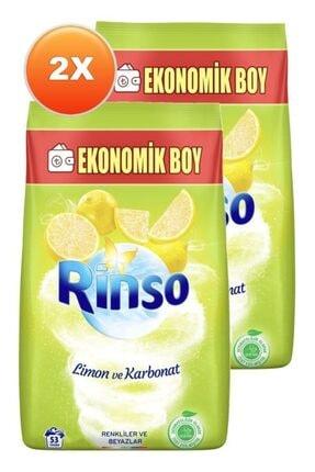 Rinso Limon Ve Karbonat Renkliler Ve Beyazlar Için Toz Çamaşır Deterjanı 6 Kg Ikili Set