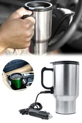 Mobee Oto Araç Içi Su Isıtıcı Kahve Makinası Kupa Tip Mug Termos Araç Çakmaklık Girişli Elektirikli Termos