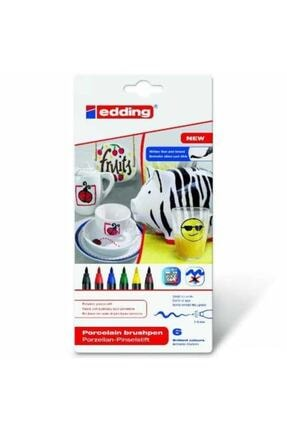 Edding 4200 Porselen Kalemi Standart Ana Renkler (6 Lı Paket)
