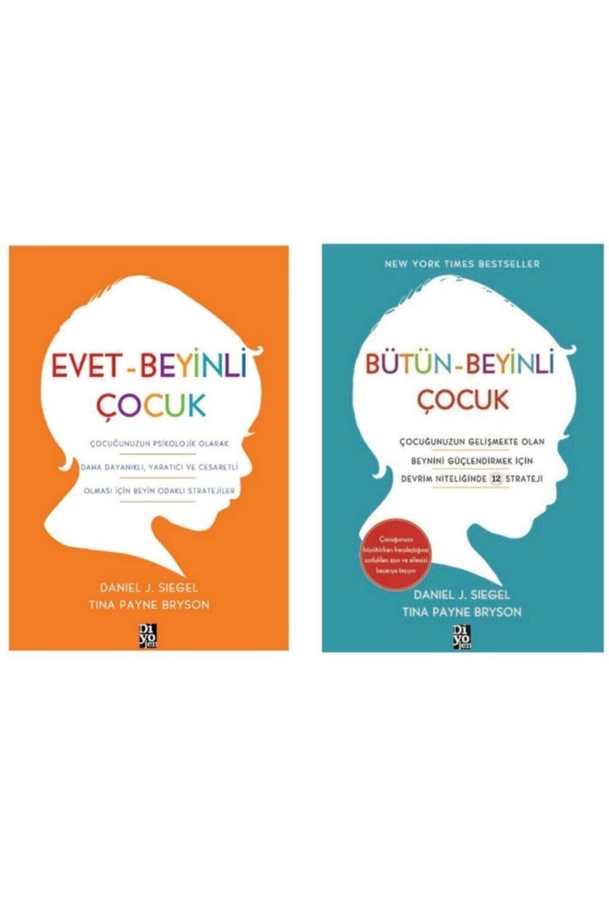 Diyojen Yayıncılık Bütün Beyinli Çocuk - Evet Beyinli Çocuk 2 Kitap Set 1