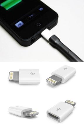 Shark Micro Usb Den Lightning (Iphone) Dönüştürücü / Otg