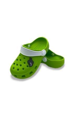 Akınal Bella Erkek Çocuk Yeşil Köpekbalığı Tasarımlı Crocs