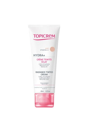 Topicrem Hydra+ Radiance Tinted Light Spf40 Cream 40ml