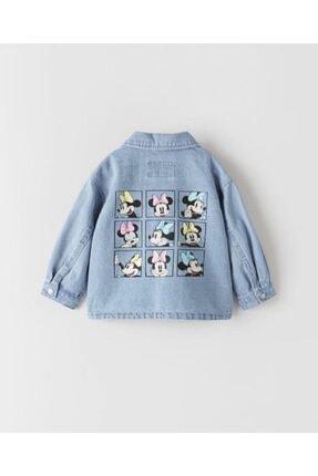 Pink Hippo Kids Kız Çocuk Mavi Kot Ceket