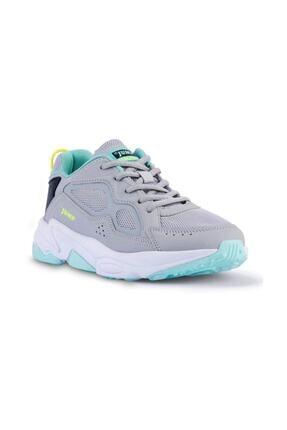 Jump Kadın Gri Spor Ayakkabı 24711