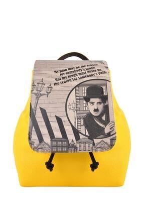 Dogo Hipsta Bag Chaplinows Kadın Günlük Sırt Çantası Dgb019-hps021