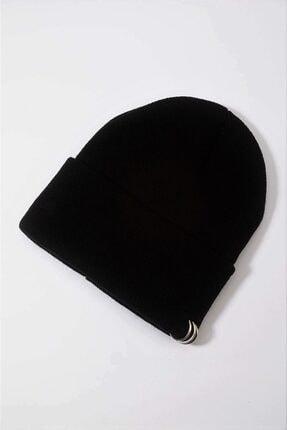 EFBUTİK Piercing Bere Çeşitleri - Siyah