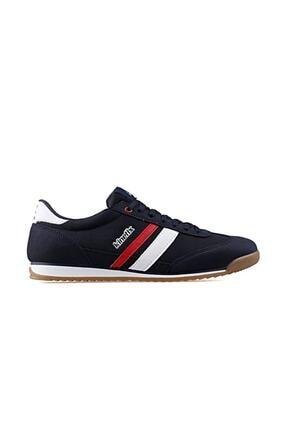 Kinetix HALLEY Lacivert Kırmızı Beyaz Erkek Sneaker 100238400