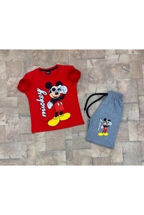 Mickey Mouse Erkek Çocuk Yazlık Alt Üst Takım