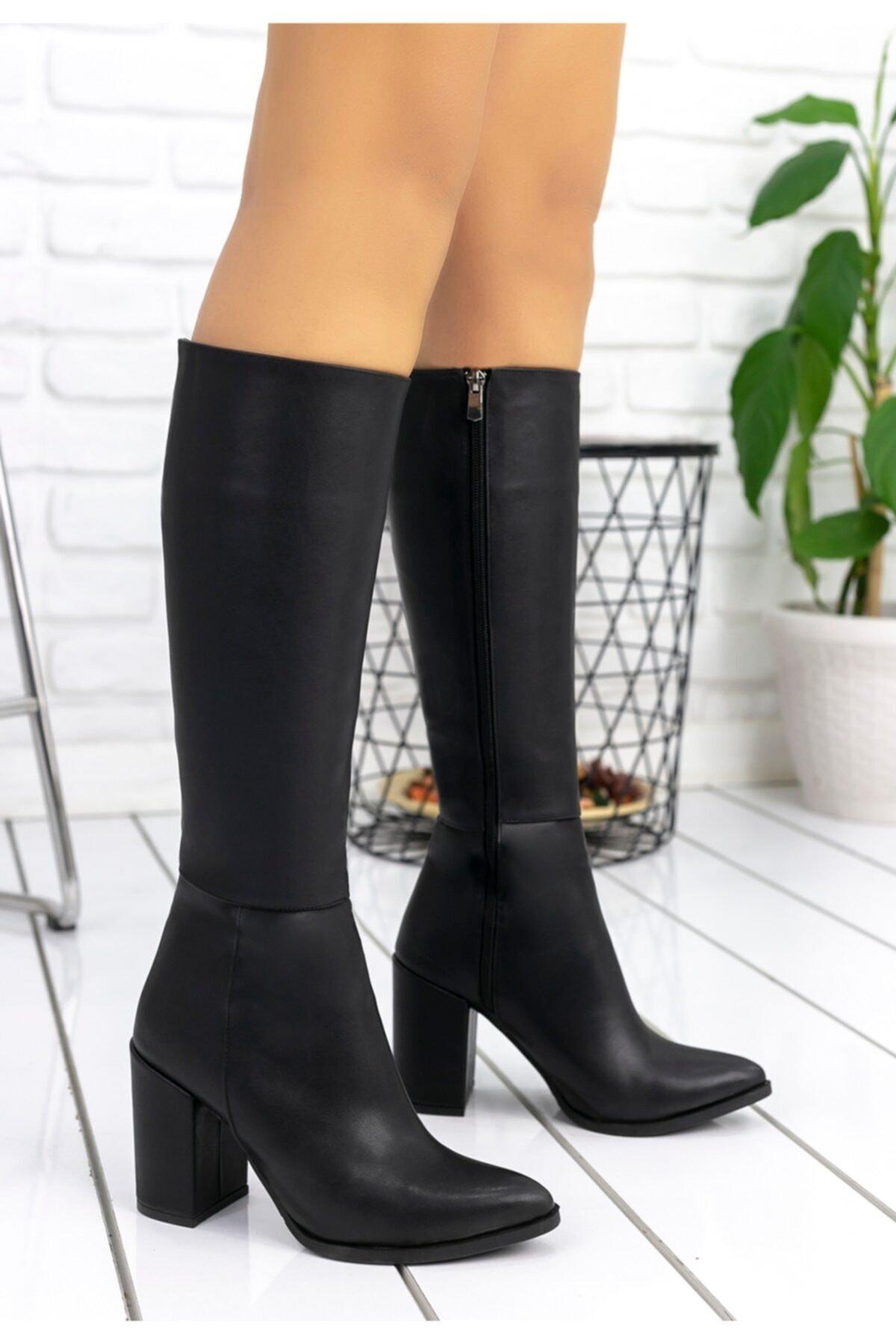 Erbilden Morena Siyah Cilt Çizme 1