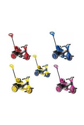 BabyHope Kırmızı Bobo Üç Tekerli Kontrollü Bisiklet 120