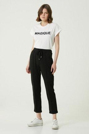 Network Kadın Basic Fit Siyah Pantolon 1079943