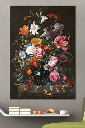 Hediyeler Kapında Rainbow Bouquet Kanvas Tablo