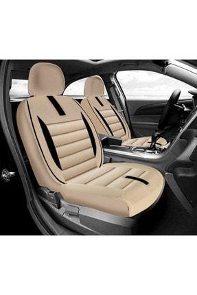 Max Store Hyundai Accent Era Deri Detaylı Oto Koltuk Kılıfı - Ön Arka Full Set