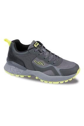 Jump 25519 Gri Siyah Günlük Erkek Spor Ayakkabı