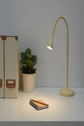 IKEA Navlinge Sarı Ayaklı Led Masa Çalışma Lambası