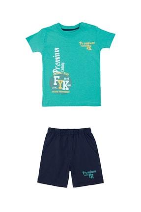 Pattaya Kids Erkek Bebek Baskılı Takım 6-24 Ay Pb21s505-2049