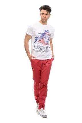 LİMON COMPANY Erkek Pembe Cepli Pantolon