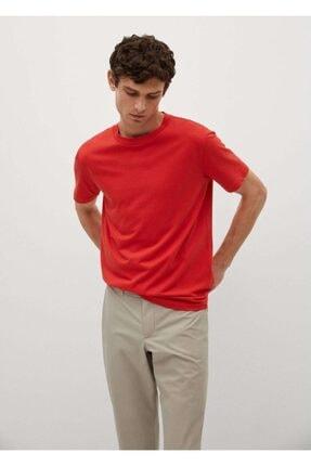 MANGO Man Erkek Sürdürülebilir Pamuklu Tişört
