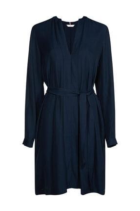 Tommy Hilfiger Kadın Mavi Elbise Capri Dress Ls WW0WW26004