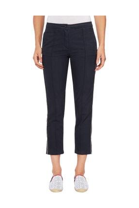 Tommy Hilfiger Kadın Mavi Pantolon Th Essential Slim T5 Chino WW0WW25250