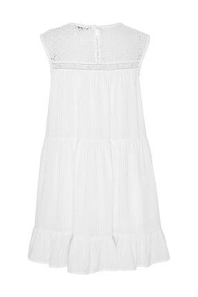 Tommy Hilfiger Kadın Beyaz Elbise Tjw Summer Sleeveless Lace Dress DW0DW06660