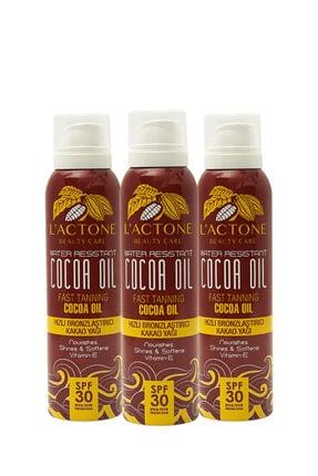 L'ACTONE Bronzlaştırıcı Sprey Kakao Yağı