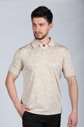 İgs Erkek Bej Regularfıt  T-Shirt