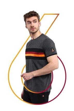 Galatasaray Çizgili Erkek Tshirt