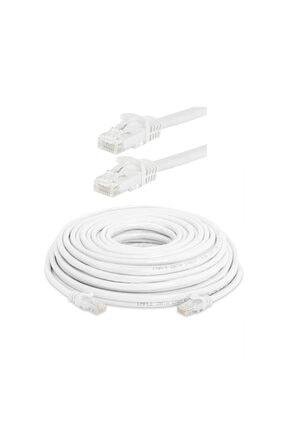 WOZLO 20 Metre Cat6 Ethernet Internet Lan Network Patch Kablo - Fabrikasyon - 20mt