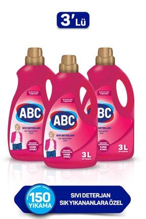 ABC Solmaya Karşı Sıvı Deterjan 3 Lt X 3