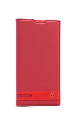 zore Asus Zenfone 4 Ze554kl Kılıf Deri Standlı Mıknatıslı Elite Case